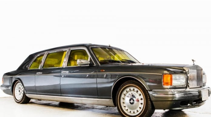 A Touring Tip – 1998 Rolls-Royce Silver Spur limo to be auctioned – Extra-long wheelbase 1998 Rolls-Royce Silver Spur armoured touring limousine used in Equatorial Guinea for sale for a knock down price by Bonhams on 29th September 2019 at Cheserex, Switzerland – The car will be offered without reserve at an estimate of £20,000 to £37,000 (CHF 25,000 to CHF 45,000, $24,600 to $45,000, €22,500 to €41,600 or درهم90,300 to درهم167,000).