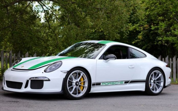 A Purist Porsche – First auction of a 2016 Porsche 911 R – Bonhams 'The Zoute Sale' at Knokke Le-Zoutte in Belgium on 7th October – £210,000 to £300,000 (€250,000 to €350,000 or $273,000 to $390,000)