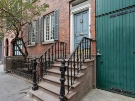 A Federal Find – 1833 John C. Blauvelt house – 232 West 10th Street, West Village, Manhattan, New York, NY 10014, United States of America – For sale through Jeffrey JD Thompson of Compass Realty – Reduced in price from £4.772 million ($5.975 million, €5.630 million or درهم21.946 million) to £3.982 million ($4.986 million, €4.698 million or درهم18.313 million)
