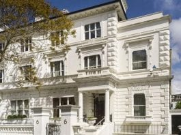 Rich Pickings – 6 The Boltons, London, SW10 9TB, United Kingdom – For sale with Knight Frank for £30 million ($38.8 million, €35.5 million or درهم142.6 million) – Adjoining Cresswell House, 5 Creswell Place, London, SW10 9RD for sale for £32.5 million ($42.1 million, €38.5 million or درهم154.5 million)