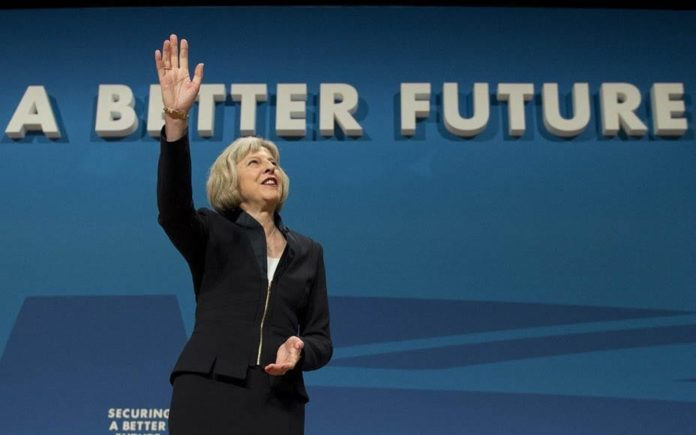 Picture of the Week – A Bitter Future – Theresa May rewrites her party's guiding slogan