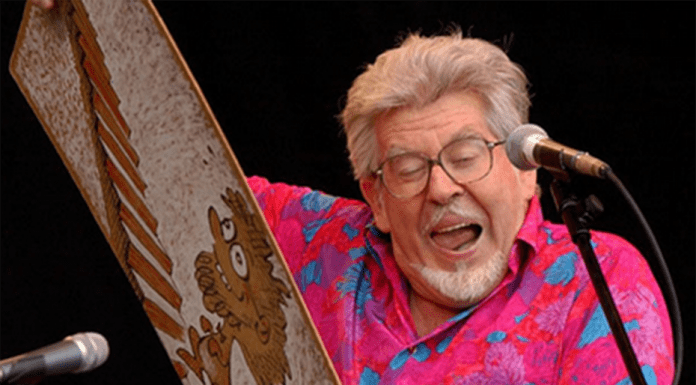A gutter paedo – Jailed paedophile Rolf Harris has penned a disgusting song titled 'Gutter Girls' to mock his victims.