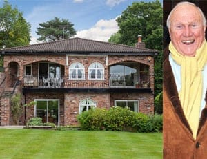 A paedophile's palace - Home of Stuart Hall and his wife Hazel Hall - Quinta, Prestbury Road, Wilmslow, Cheshire, SK9 2LJ