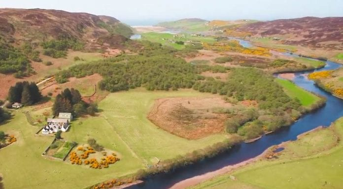 The Modern Macnab – Achnabourin Estate, Bettyhill, Sutherland, Scotland – For sale for £995,000 ($1.3 million, €1.1 million or درهم4.7 million) through Goldsmith & Co. Estate Agents – 5,885 acre Scottish estate that offers the perfect opportunity to bag a 'Macnab' for sale for less than a price of a poky Knightsbridge flat.