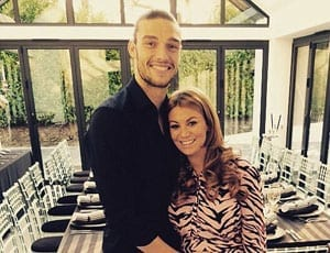 Andy Carroll and Billi Mucklow