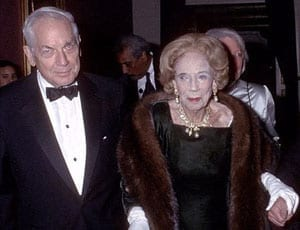 Anthony Dryden Marshall with his late mother Brooke Astor FI 2