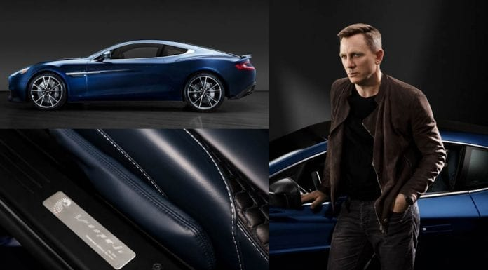 Craig's Centenary – Daniel Craig's Aston Martin to be sold at auction – 007 numbered Aston Martin owned by Daniel Craig to be sold for charity at auction by Christie's in New York in April 2018.