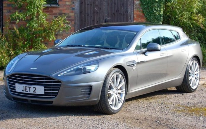 A One Off – £1.25 million for 2012 Aston Martin 2+2 Jet shooting brake by Bertone through Classic Mobilia – One-of-a-kind 2012 Aston Martin shooting brake for sale for a staggering sum; it comes with all needed to build more examples.