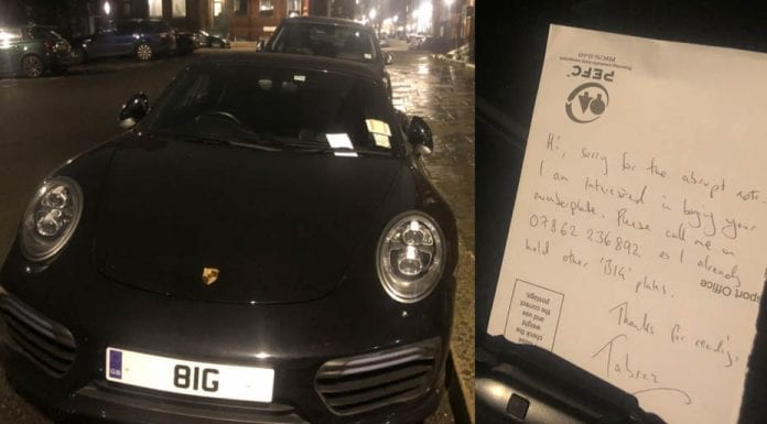 Anything But BIG – 8IG number plate attracts attention – Pretentious number plate 'BIG' attracts attention in Knightsbridge.