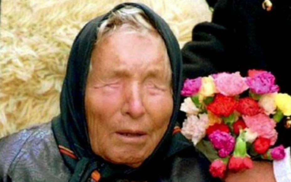 Baba Vanga (баба Ванга, AKA 'Nostradamus from the Balkans', 1911 – 1996) – Blind, illiterate, psychic Macedonian villager and clairvoyant