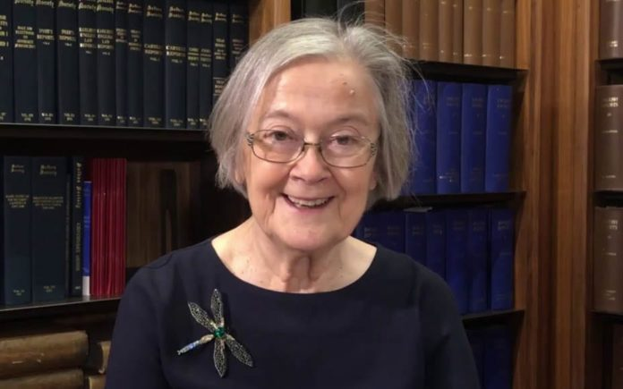 """Hero of the Hour – Baroness Hale shows her wit and humour – Lady Hale shows humour in mocking her name because she read about a woman called Brenda """"and she was an absolute bitch."""""""