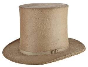 A £25,000 top hat suitable for a gent who wants to stand out at Royal Ascot