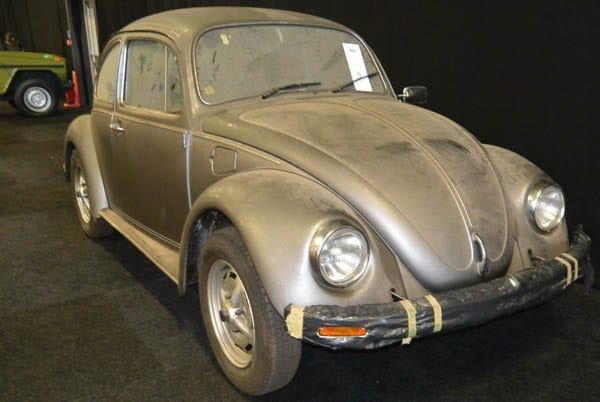 Beetling to Auction – Rusty old Volkswagen Beetle to be auctioned; it's offered with an astounding guide price – 1952 Volkswagen Type 1 Beetle to be sold by RM Sotheby's in Paris, France on 8th February 2017 with a guide of £45,000 to £70,000