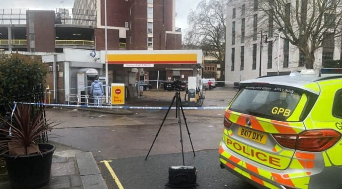 More Belgrade Than Belgravia – Shell garage robbed – As the Belgravia Shell is raided and its cash machine robbed, here is another timely reminder of the effects of Theresa May's cuts.