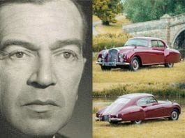 The Bentley of Taste – Burton founder's son's Bentley to be auctioned – 1954 Bentley R-Type Continental Fastback
