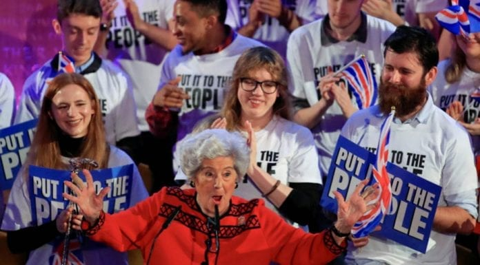 Bang On Betty – Betty Boothroyd speaks out against Brexit – In spite of her ill health, Betty Boothroyd's intervention is illustrative that it is not just the young that don't want Brexit.