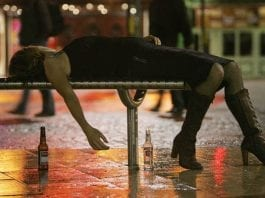 Boozy Birds – Northumbrian women most likely to be drunk