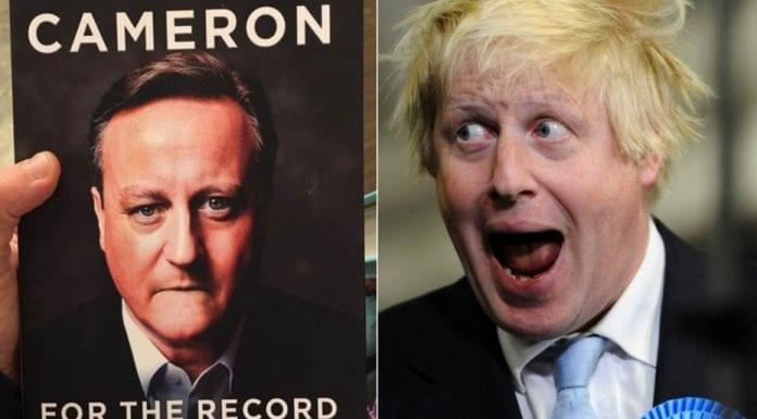 """All That's Certain About Boris and Dave – Death, taxes and Boris Johnson find themselves united whilst the dust jacket of David Cameron's 'For The Record' gets pilloried – There's nothing certain in life other than death and taxes"""" becomes There's nothing certain in life other than death, taxes and Boris Johnson losing votes."""""""