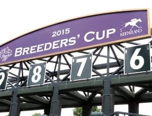 The Breeders' Cup 2015