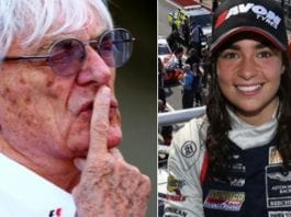 Dwarfing Misogyny – Rising star female racing driver Jamie Chadwick puts 'Bungling Bernie' Ecclestone in his place and dismisses his misogynist views.