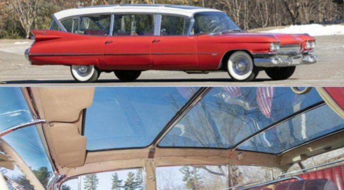 The Sky's the Limit – 1959 Cadillac BROADMOOR Skyview with coachwork by Superior Coach Corp. – £140,000 to £200,000 ($175,000 to $250,000 or €165,000 to €235,000 or درهم640,000 to درهم915,000) – Bonhams Amelia Island Auction on 9th March 2017 at the Fernandina Beach Club – The BROADMOOR Hotel in Colorado Springs, El Paso County, Colorado