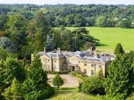 "A Derelict Doer-Upper – The Coombe Park Estate, Whitchurch-on-Thames, Reading, Oxfordshire, RG8 7QT, United Kingdom – Derelict 18th century Oxfordshire mansion Coombe Park at Whitchurch-on-Thames with 125 acres of land for sale for £10 million ($13.2 million, €11.3 million or درهم48.7 million) in spite of being described as being ""in poor order"" through agents Strutt & Parker"