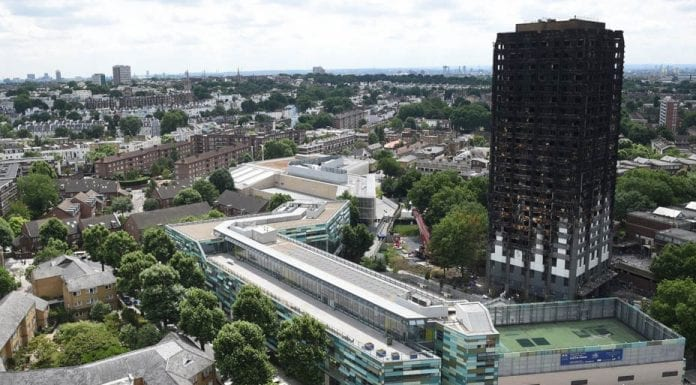 Grim Grenfell – Matthew Steeples suggests the giant coffin and stain on government that is the Grenfell Tower should be demolished immediately.