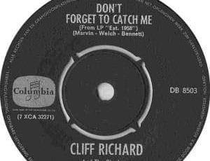 Don't forget to catch me – Sir Cliff Richard – Historic child abuse – Elm Guest House – Sheffield – CPS – File passed to Crown Prosecution Service – Peter Pan of Pop – Christian pop singer