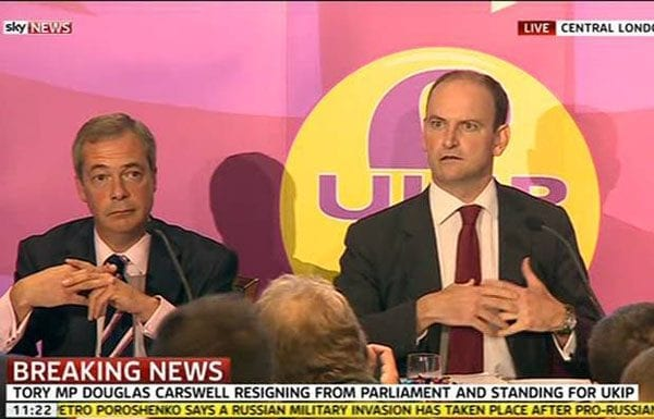 Douglas Carswells defection to UKIP was a foolish move on his part 1