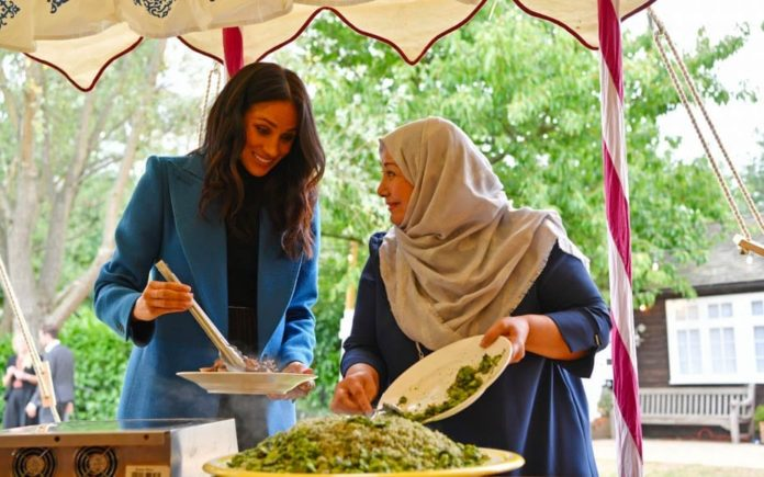 Murky Stirring – The Duchess of Sussex attempts to morph into a modern day Mary Berry.