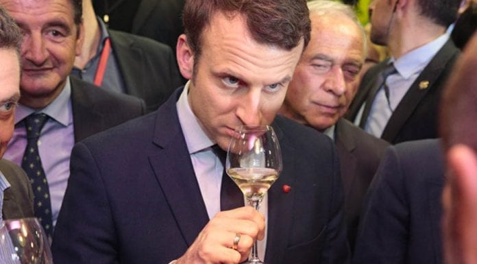 Cheers Macron! President Emmanuel Macron should ignore his critics and continue to enjoy drinking wine.