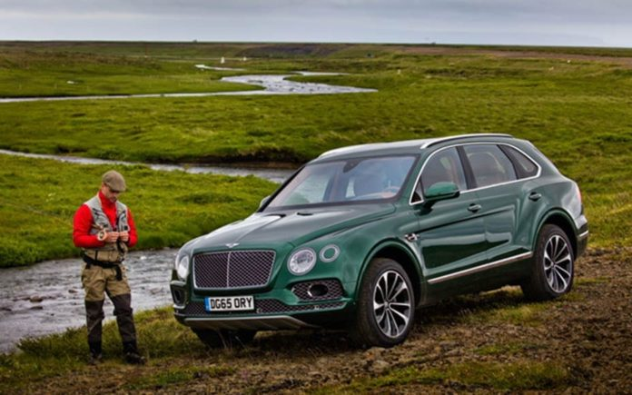 Fishing with Bentley – Bentley Bentayga Fly Fishing by Mulliner priced at £280,000 ($340,000, €322,000 or درهم 1.25 million) to be exhibited by Jack Barclay at The London Fly Fishing Fair, The Business Design Centre, 52 Upper Street, Islington, London, N1 0QH on 10th and 11th March 2017