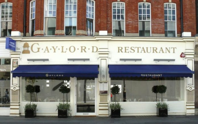 Gaylord Gone – Gaylord restaurant closes permanently – Iconic Indian restaurant Gaylord permanently closes due to cockroach infestation. It was situated at 79-81 Mortimer Street, Fitzrovia, London, W1W 7SJ.