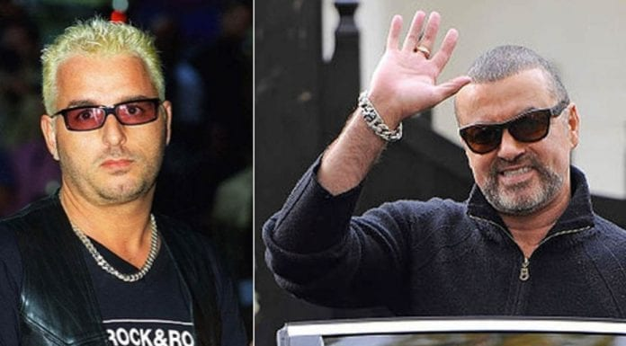 George Michael and Andros Georgiou