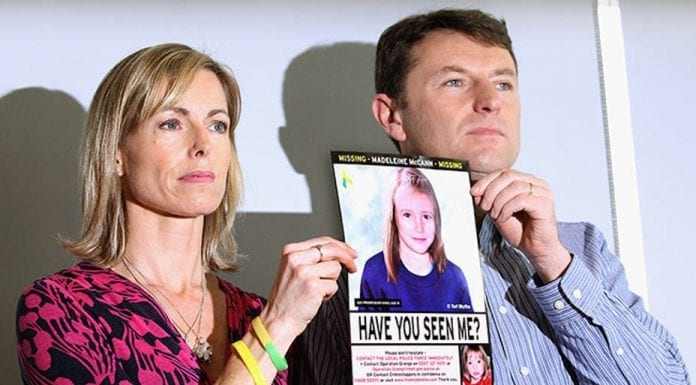 A Missing Mockery – As a further £154,000 is handed to the police, is it right that £11 million has been allocated to searching for Madeleine McCann whilst the searches for other missing people get little to nothing?