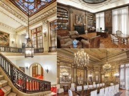 "Gilded Glory – 854 Fifth Avenue, Upper East Side, New York, NY 10065, United States of America – £38.75 million ($50 million, €45.96 million or درهم183.65 million) with Douglas Elliman – New York's ""last intact Gilded Age mansion"""