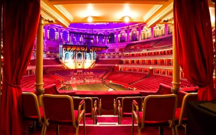 A Bonkers Priced Box – A box at Royal Albert Hall for £3 million or a castle in Durham for the same price? Box seating twelve people at the Royal Albert Hall for sale for the same price as a 15,000 square foot 'castle' in County Durham. Agents: Harrods Estates and Urban Base.