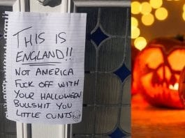 Picture of the Week – The Horror That is Halloween – Halloween is a ridiculous American nightmare suggests Matthew Steeples