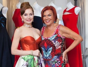 Health, Hope and Fashion – Romona Keveža American Cancer Society event, One Rockefeller Plaza, New York, 28th April 2016