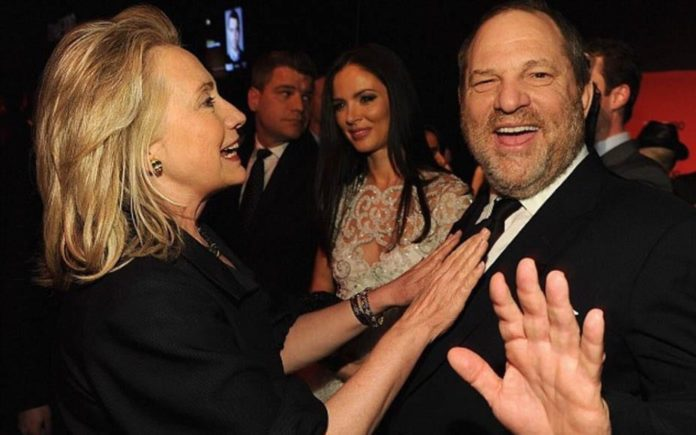 Avoidable Ignominy – Hillary Clinton clutching chest of Harvey Weinstein represents a judgment choice as bad as Prince Andrew hanging out with Jeffrey Epstein.