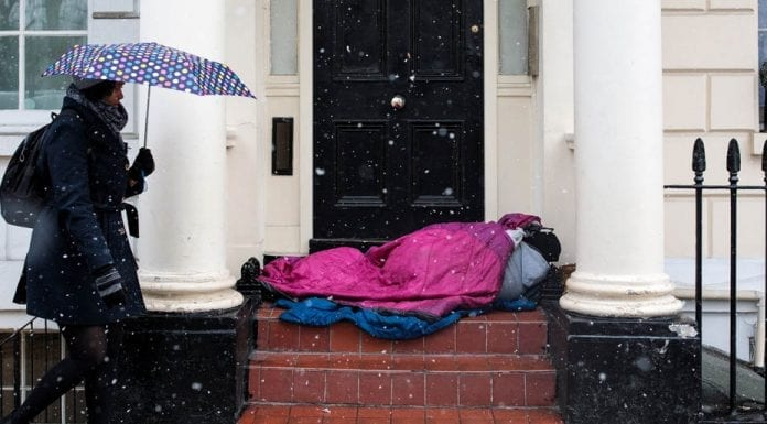 The Moral Warp of Brexit – Homelessness forgotten in Brexit Britain – As Brexit dominates our nation, we have have forgotten other pressing issues; we must sort this mess and then get back to normal business suggests Matthew Steeples.