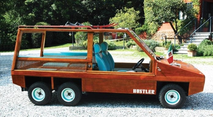 Hustling a Hustler – 1983 Hustler 6 clad in wood – RM Sotheby's London sale – Battersea – Wednesday 7th September 2016 – £20,000 to £30,000 ($26,600 to $40,000 or €23,800 to €35,800)