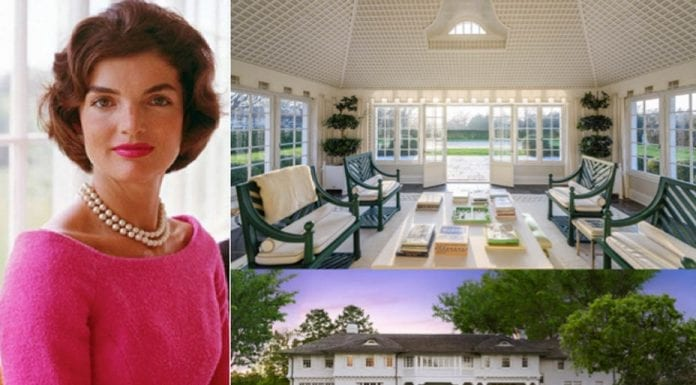 A Peaceful Reduction – 121 Further Lane, East Hampton, New York, NY 11937, United States of America – For sale through Knight Frank for a reduced price of £36.1 million ($47 million, €40.4 million or درهم172.6 million) – Childhood summer home of Jackie Kennedy Onassis and currently owned by Reed Krakoff and his wife Delphine.