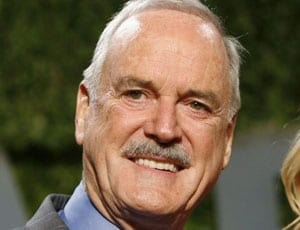 John Cleese (right) spoke for the nation when he took on Piers Morgan on Twitter