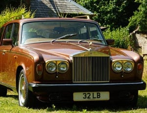 John Entwistle Rolls Royce Silver Shadow II shooting brake FI 1