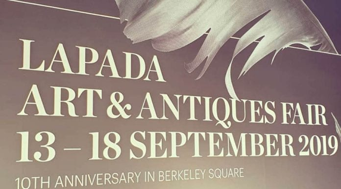 Highlights of LAPADA 2019 – Berkeley Square, Mayfair, London, W1 – Matthew Steeples picks his highlights at the LAPADA 2019 art and antiques fair in Mayfair's Berkeley Square on its penultimate day.
