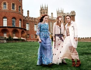 Lady Alice, Lady Eliza and Lady Violet Manners