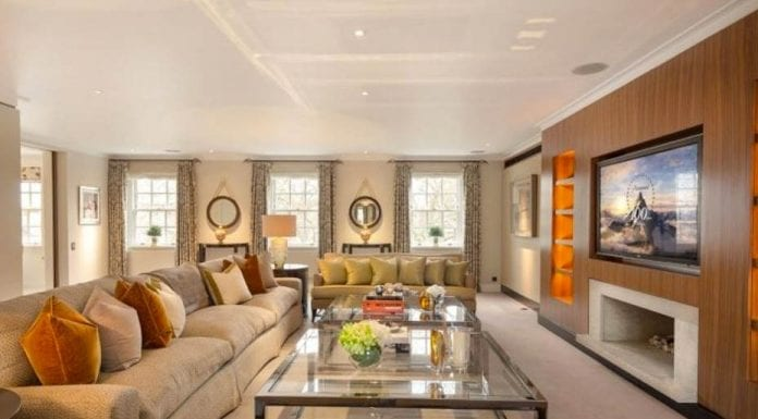 Large in Lowndes – The Penthouse, 23 – 25 Lowndes Square, Knightsbridge, London, SW1X 9HD for sale for £29.5 million ($35.9 million, €33.6 million or درهم 131.8 million) through Savills – Vast Knightsbridge penthouse with two terraces and double garage for sale for a sum 478% higher than it achieved in 2000