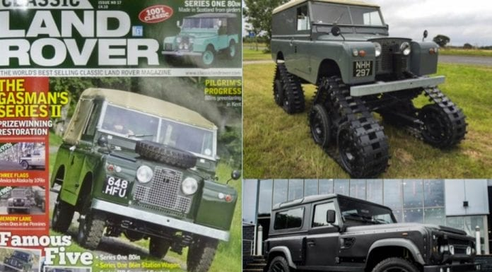 Lavish Landies – A selection of the most unusual and expensive Land Rovers currently for sale – 1959 Land Rover Series II – £49,995 ($61,400, €58,300 or درهم225,600) through Land Rover Centre Huddersfield; 1959 Land Rover Series II 109 by Cuthbertson – £84,995 ($104,000, €99,100 or درهم383,600 million) through John Brown 4x4; 2014 Land Rover Defender XS station wagon 6.2-litre V8 Flying Huntsman 105 long nose, wide body by Afzal Khan – £249,975 ($307,000, €292,000 or درهم1.1 million) through Khan Automobiles