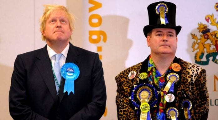 Don't be a mug, vote Toby Jug – Lord Toby Jug (born Brian Borthwick, 18th December 1965 – 2nd May 2019) spoke a great deal of sense – That the late Lord Toby Jug's approach to politics make more sense than we've currently got says a lot about where we are now in Britain.